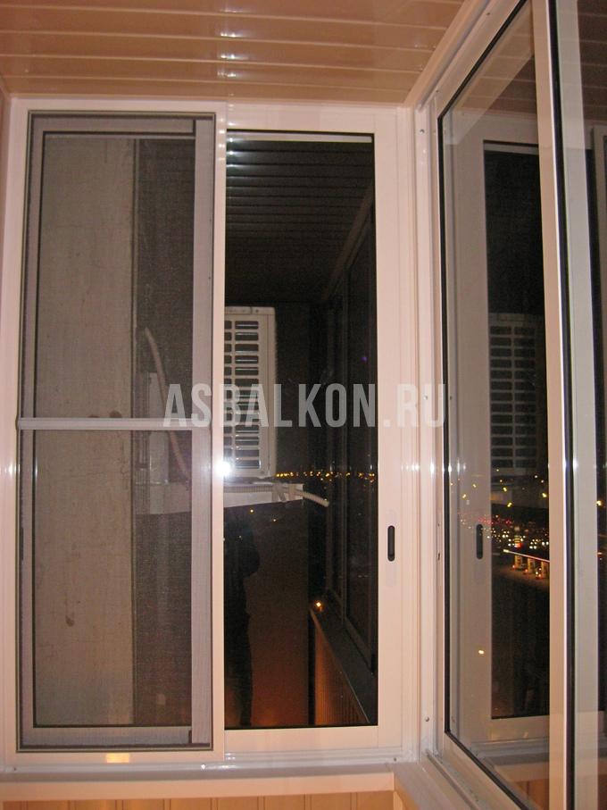 Остекление балконов и лоджий алюминиевым профилем в москве ц.