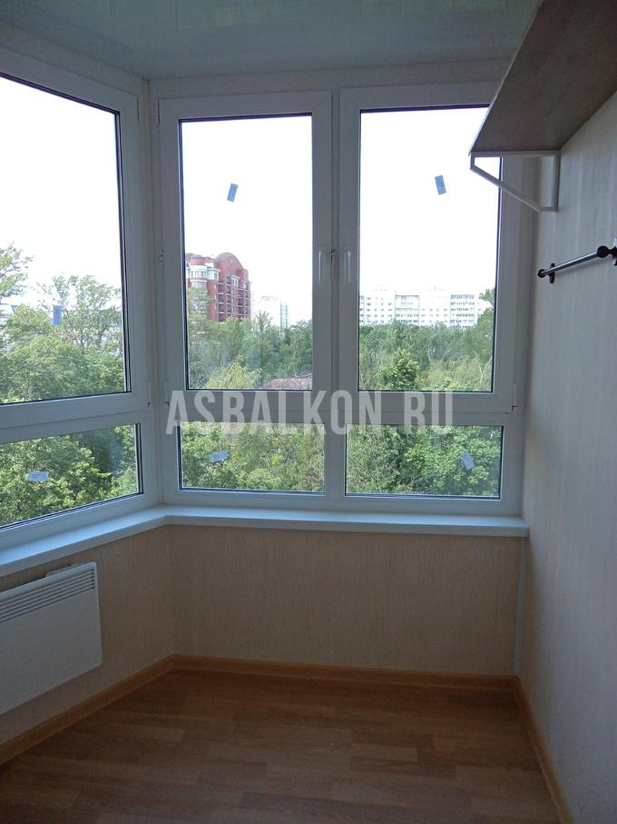 Остекление балкона п44т стоимость..