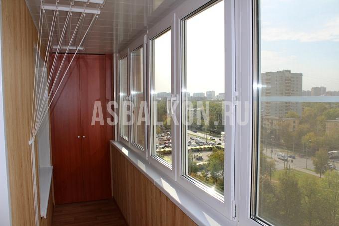 Крыша на лоджию 6 метров в москве. - металлопластиковые окна.