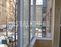 Варианты остекления балконов и лоджий в Сталинке