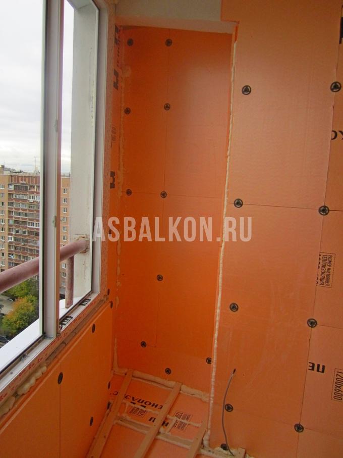 Утепление балкона пеноплексом в москве цены на утепление лод.
