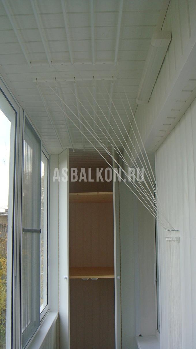Купить сушилку для белья на балкон, установка сушилок на бал.
