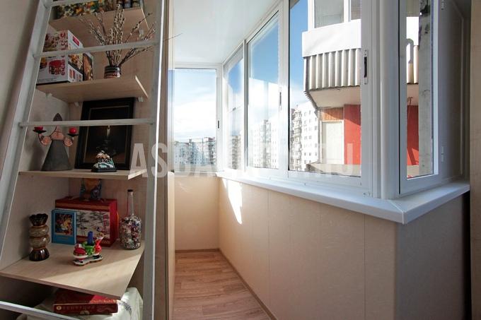 Отделка балкона панелями пвх обшивка лоджии пластиковыми пан.