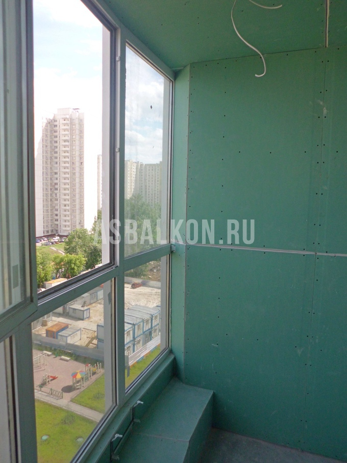 Фотогалерея - примеры работ совмещения балкона и лоджий.