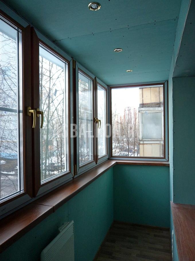 Обшив балкона гипсокартоном внутренняя отделка балкона.