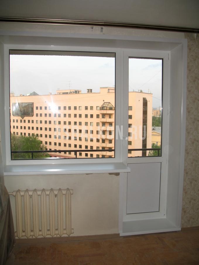 """Балконный блок """"под ключ"""" в москве цены на пластиковые балко."""