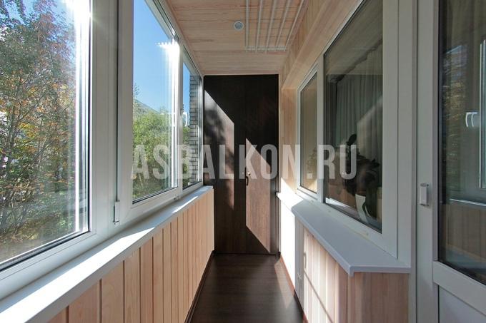 Отделка балконов деревянной вагонкой - страница 3.
