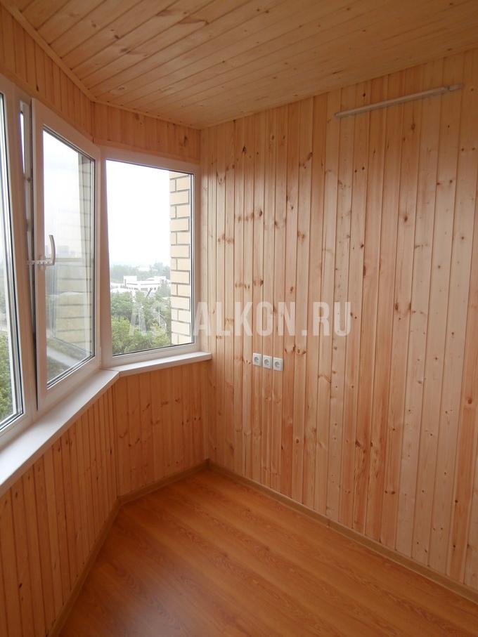 Отделка балконов деревянной вагонкой фотогалерея.