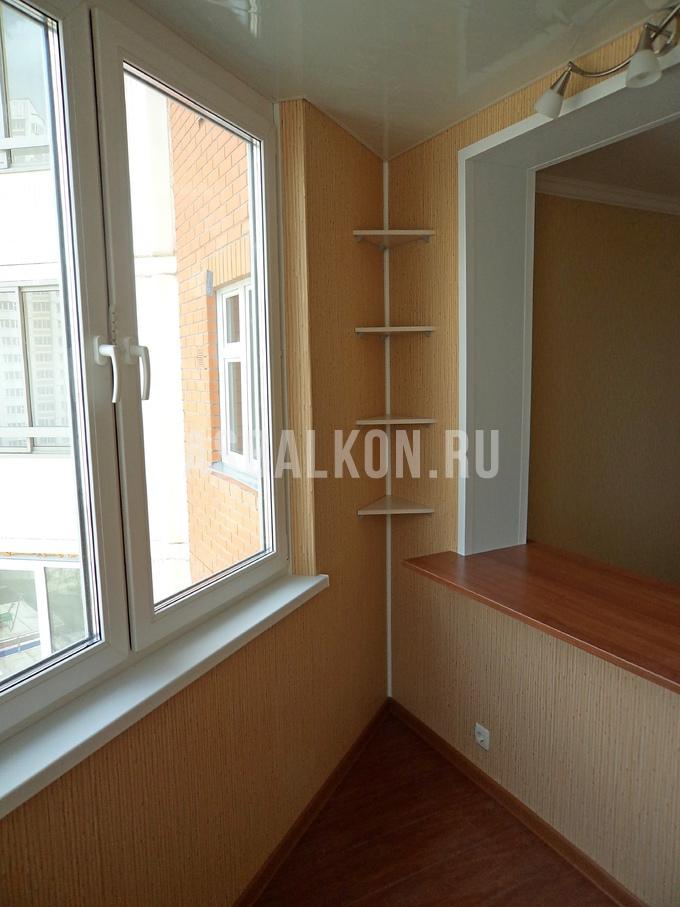 Отделка балконов пластиковыми панелями фотогалерея - страниц.
