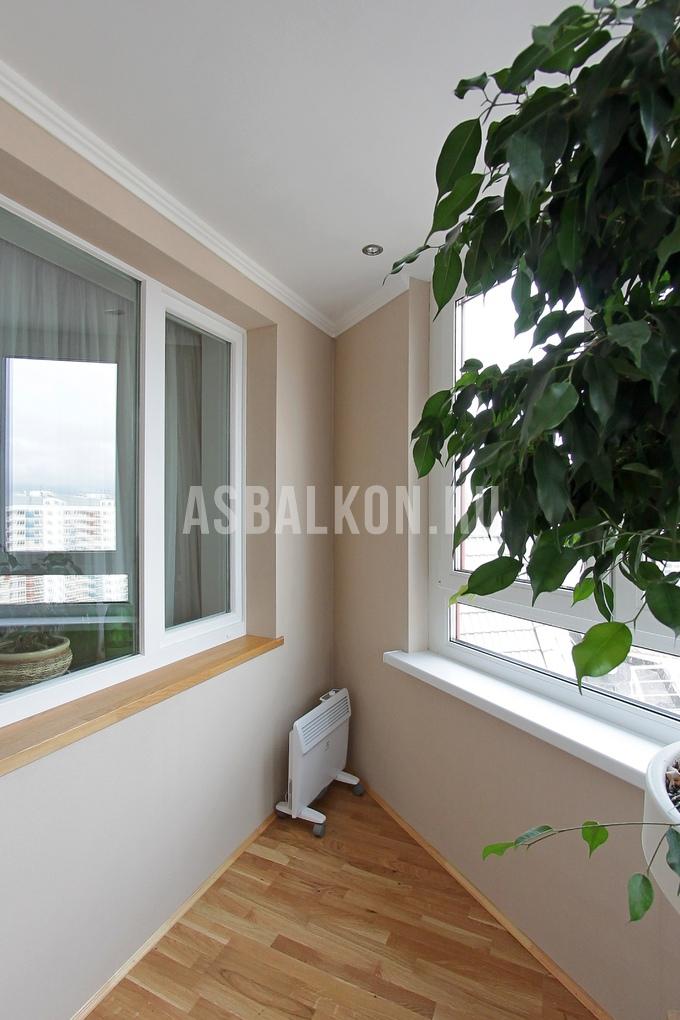 Отделка балконов гипсокартоном фотогалерея.