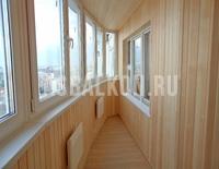 Остекление лоджий и балконов пластиковыми окнами