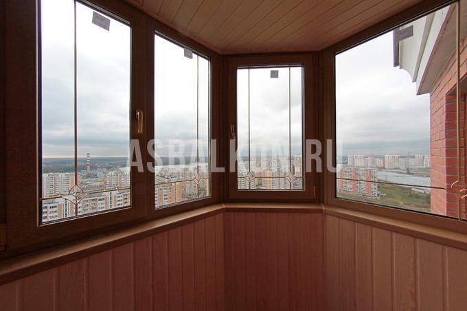 Остекление балконов пластиковыми окнами в москве застеклить .